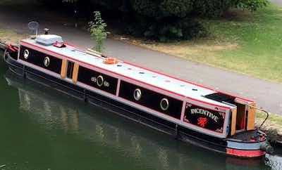 Louis & Joshua 58' Trad Stern Narrowboat