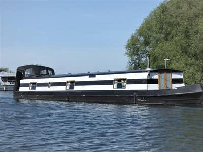 Wide Beam Narrowboat 60 x 10 Aqualine