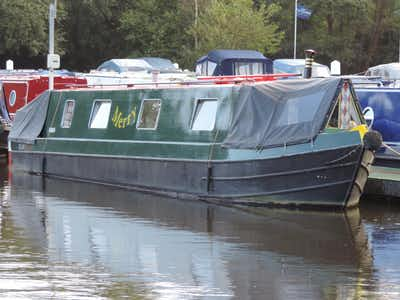 Custom Cruiser Stern Narrowboat