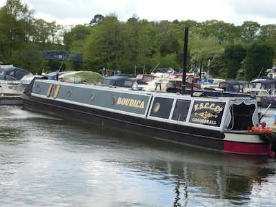Barry Hawkins 67' Traditional Narrow Boat