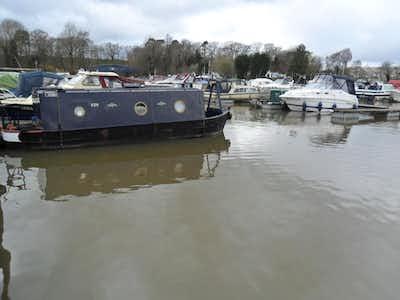 Narrowboat 26' Cruiser Stern 1990