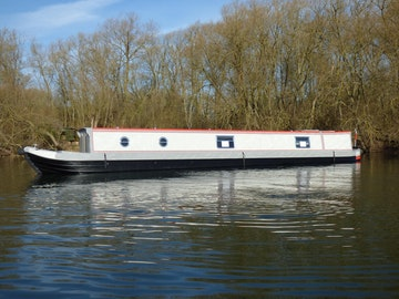 Narrowboat 57' Stem to Stern Semi Trad