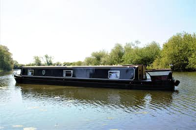 Narrowboat Aqualine Madison60Cruiserstern