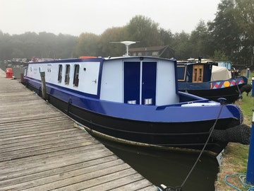 Wide Beam Narrowboat 50' x 10'