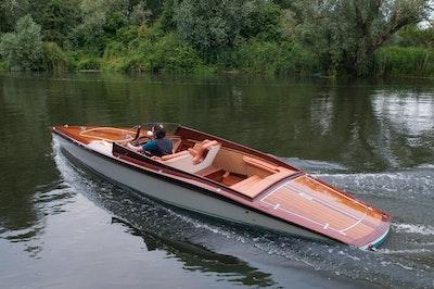 Fine Wooden Boats Ltd Super Slipper Launch