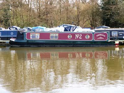 Narrowboat G J Reeves 42'