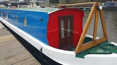 57' Cruiser Stern Narrow Boat