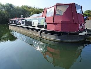Wide Beam Narrowboat 60 x 13 Collingwood