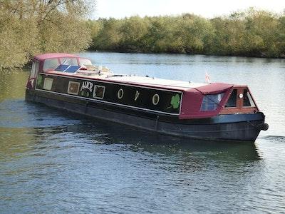 Wide Beam Narrowboat 60 x 12 Collingwood