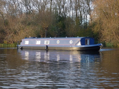Wide Beam Narrowboat 60 x12 Orchard Marine Hanbury