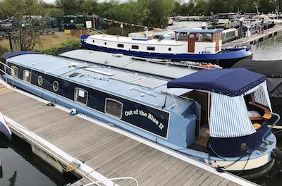 Metrofloat Richmond 60' x 11' Widebeam Canalboat