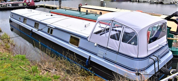 Wide Beam Narrowboat Viking Canal Boats 70 x 12 06