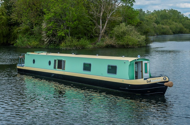 Aintree 57' Narrowboat Fitout by SolSeeker