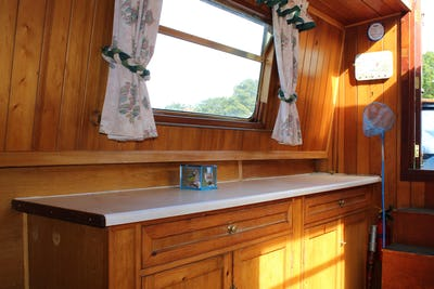 Narrowboat50' P.M Buckle Cruiser SternKingfisher - offered for sale by Tingdene Boat Sales