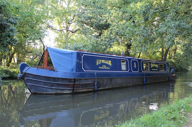 Narrowboat 50' P.M Buckle Cruiser Stern