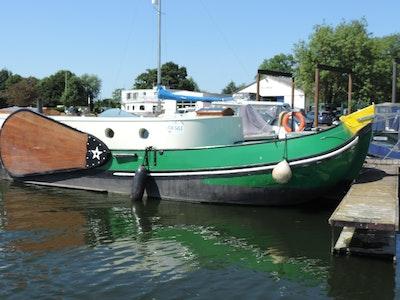 Custom Dutch Barge