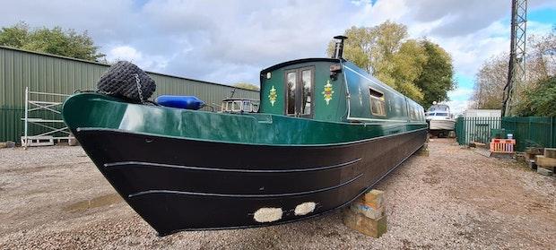 Narrowboat  Lexden Swan 58