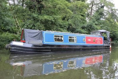 Narrowboat 40' G & J Reeves Cruiser Stern