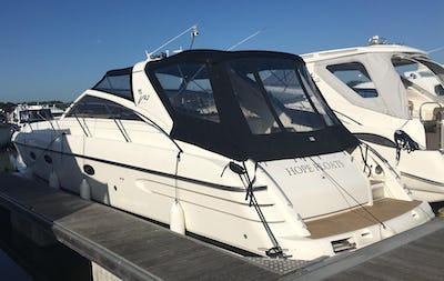 PrincessV42Ex 'Hope Floats' - offered for sale by Tingdene Boat Sales