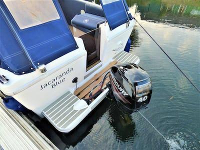 Viking275 Jacaranda Blue - offered for sale by Tingdene Boat Sales