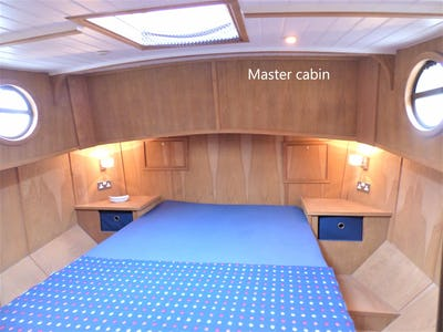 Barge 50' Euroship Replica Tjalk  Branta  - offered for sale by Tingdene Boat Sales