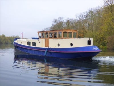 Aqualine Voyager 60 Dutch Barge Sappho  - offered for sale by Tingdene Boat Sales