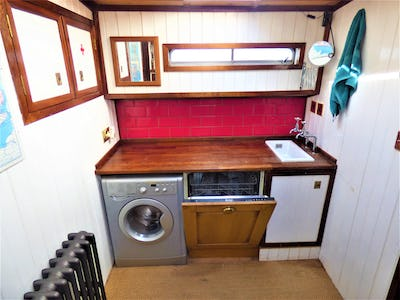 ClassicDutch Restored Dry Goods BargeMaria Christina - offered for sale by Tingdene Boat Sales