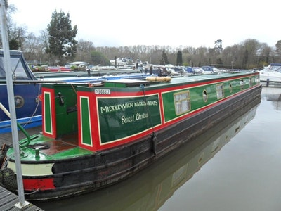 Narrowboat 65' Semi - Traditional Stern