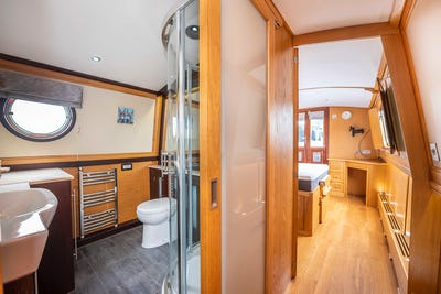 Wide Beam Narrowboat Aqualine Canterbury 60 x 10Stella - offered for sale by Tingdene Boat Sales