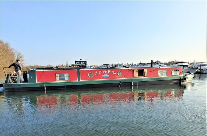 Wide Beam Narrowboat60 x 11 Aqualine CanterburySilver King - offered for sale by Tingdene Boat Sales