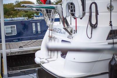 Broom345osHarlequin - offered for sale by Tingdene Boat Sales