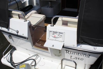 Shetland27Running Late - offered for sale by Tingdene Boat Sales