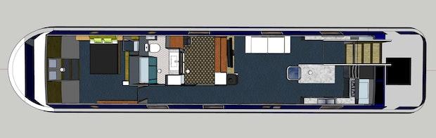 Viking Canal Boats 60 x 12 06  2 Bedroom