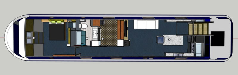 Viking Canal Boats60 x 12 06  2 BedroomNew Boat February 2022 - offered for sale by Tingdene Boat Sales