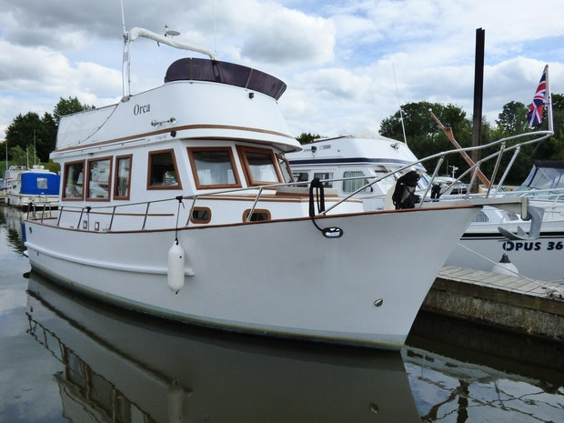 C-Kip Trawler Yacht