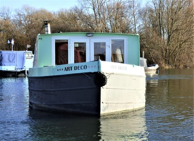 Wide Beam Narrowboat NB of Staffs - Beardall Marine Art Deco - offered for sale by Tingdene Boat Sales