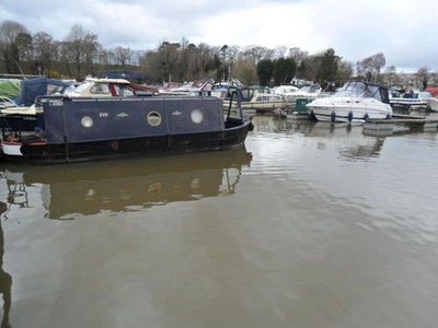 Narrowboat 26' Cruiser Stern 1990