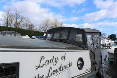 Aqualine60' x 11' WidebeamLady of the Lowlands - offered for sale by Tingdene Boat Sales