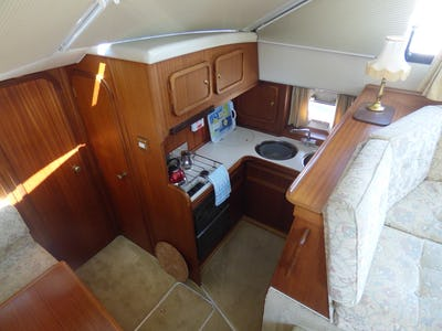 Broom41White Champagne - offered for sale by Tingdene Boat Sales