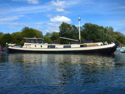 Barge Dutch Motor Tjalk Hoop Doet Leven - offered for sale by Tingdene Boat Sales