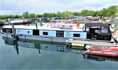 Wide Beam Narrowboat 70x12 Collingwood SP Longboats