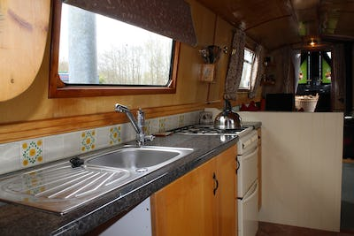 Liverpool Boats 50' Semi Trad DAME Du CANE - offered for sale by Tingdene Boat Sales