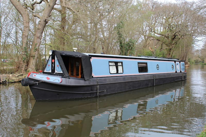 Liverpool Boats50' Semi TradDAME Du CANE - offered for sale by Tingdene Boat Sales
