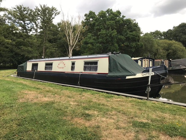 Narrowboat 40' Cruiser Stern
