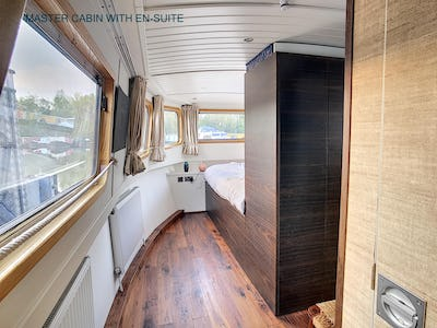 Wide Beam NarrowboatMetrofloat 60 x 12 Enclosed CratchAllegria - offered for sale by Tingdene Boat Sales
