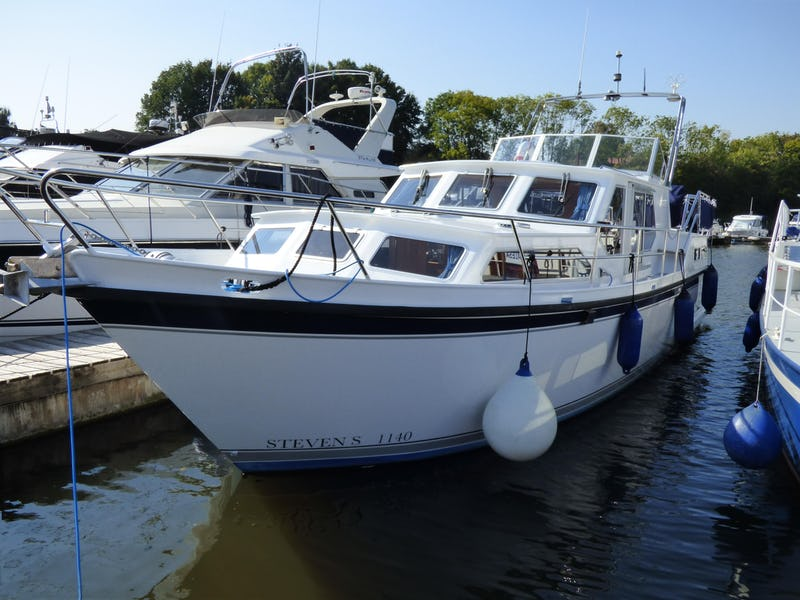 Stevens1140Lady Ellen - offered for sale by Tingdene Boat Sales