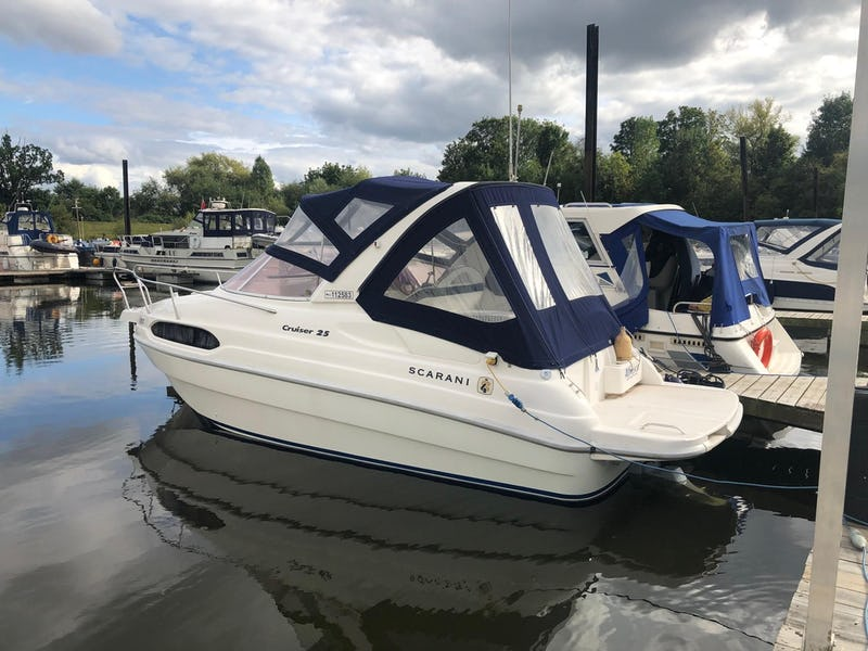 ScaraniCruiser 25Alfresco - offered for sale by Tingdene Boat Sales