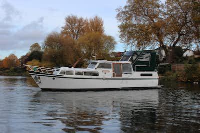 Kempala 36' Dutch Steel Motor Cruiser