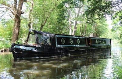 Narrowboat60' Dursley & Hurst Semi TradBlack Velvet - offered for sale by Tingdene Boat Sales