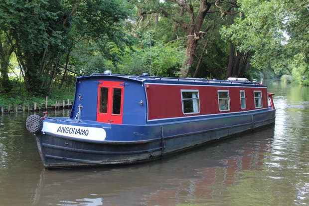 Narrowboat 46' Cruiser Stern G J Reeves